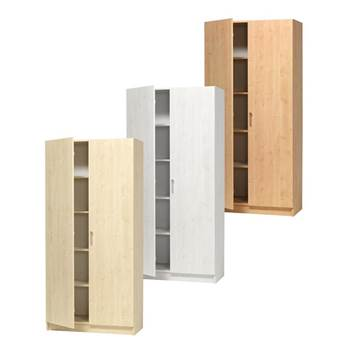 Equipment cabinet, full solid doors
