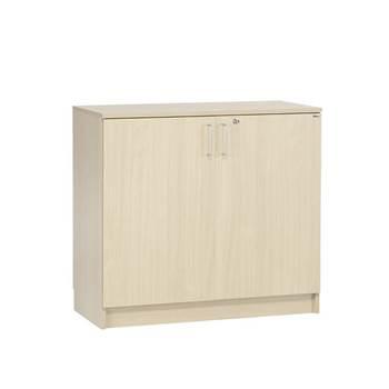 Low equipment cabinet