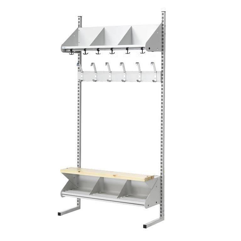 Modular cloakroom storage unit