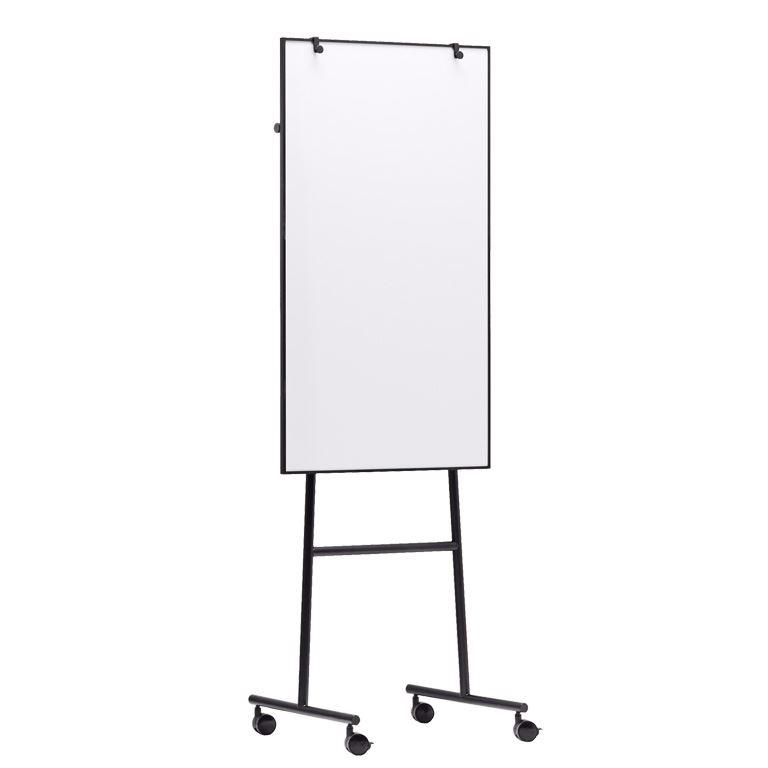 Mobile flip chart easel & whiteboard
