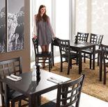 Restaurant table: wenge
