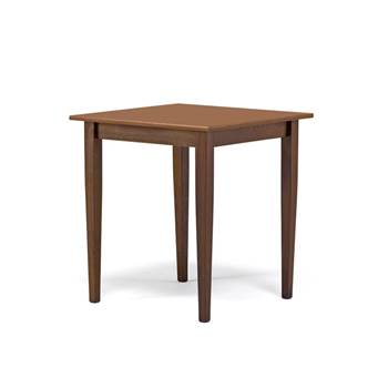 Stół do restauracji lub stołówki.
