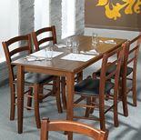 Restaurant table: walnut
