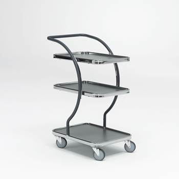 Modern tray trolley