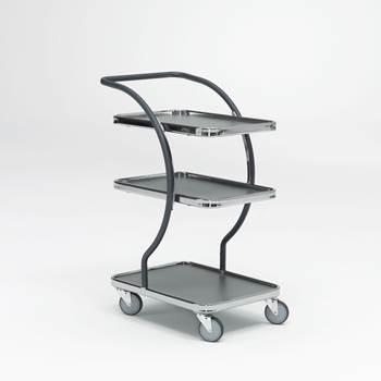 Wózek z półkami