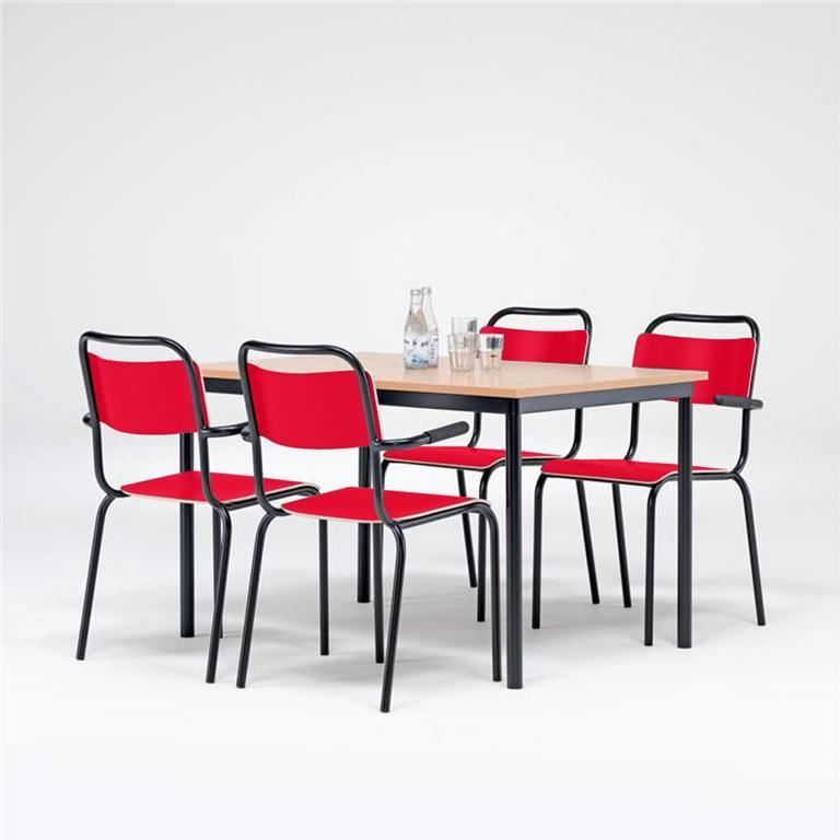 Canteen furniture package deal: table + 4 chairs