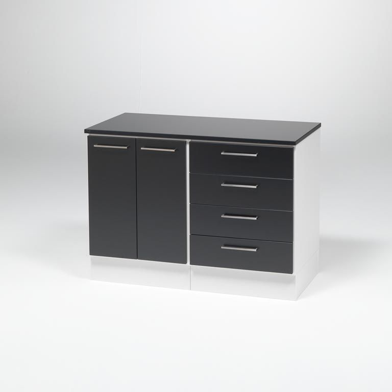 """Package deal: """"Elegant"""" office cabinet with drawers"""