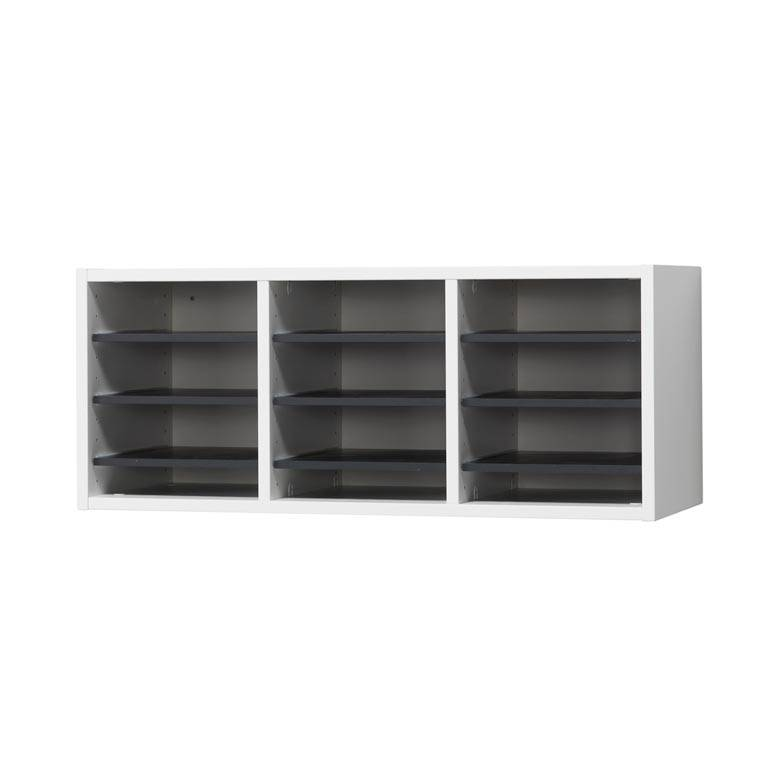 Elegant wall mounted unit 12 comps aj products for Elegant wall units