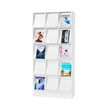 Regał ekspozycyjny na foldery A4