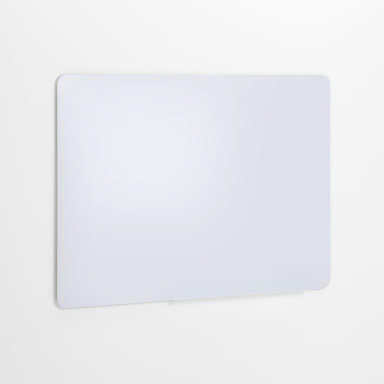 Biała szklana tablica suchościeralna