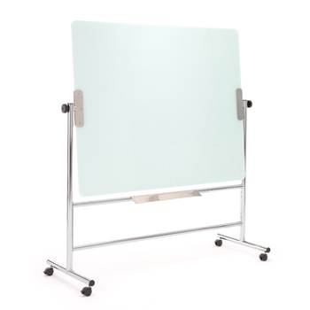 Revolving glass writing board