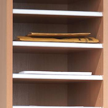 Extra shelf for the pigeon hole units
