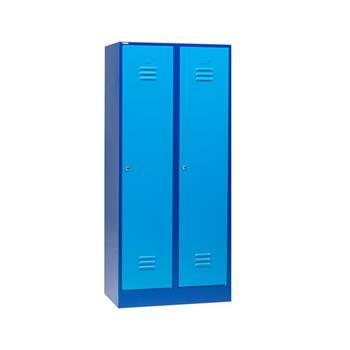 Klädskåp, 1-sektion, 2 dörrar