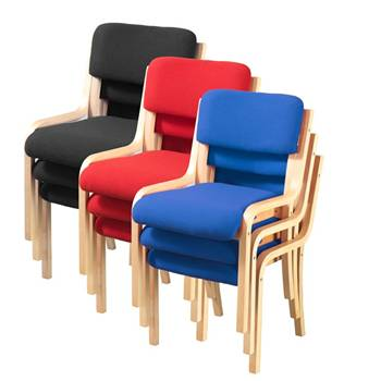 Upholstered conference chairs