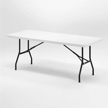 Stół składany z blatem z tworzywa sztucznego