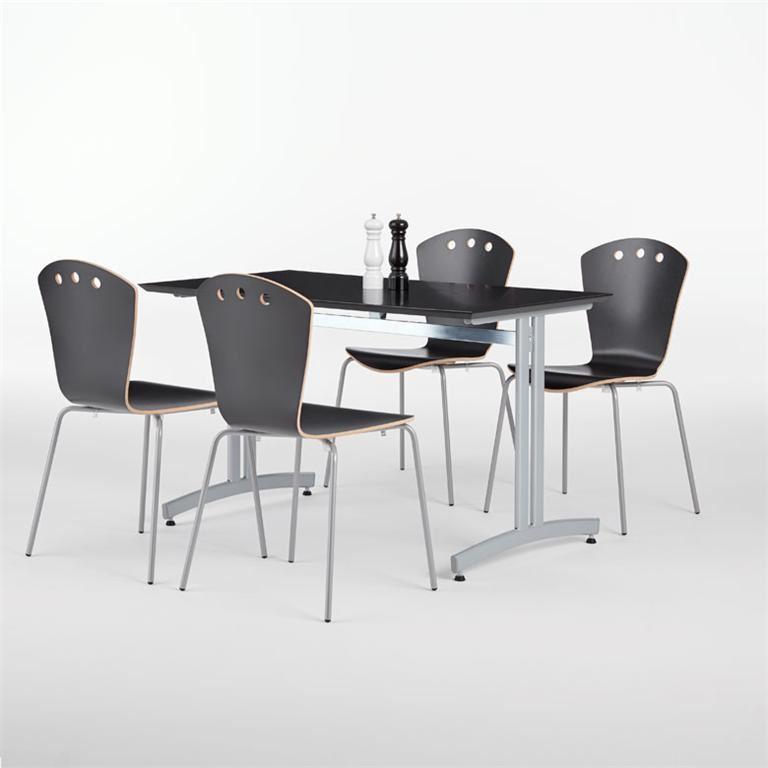 Zestaw mebli do jadalni 1 stół + 4 krzesła
