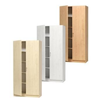 Materialskåp med hela dörrar 470mm