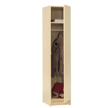 Full length wooden locker