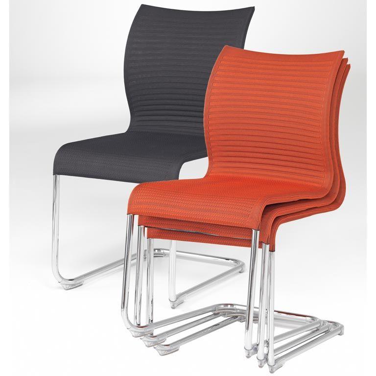 Krzesło konferencyjne SIENNA bez podłokietnika