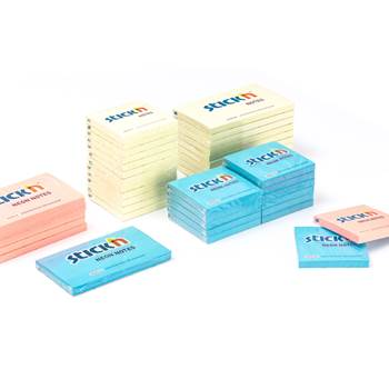 Self-adhesive note block: 12-pack