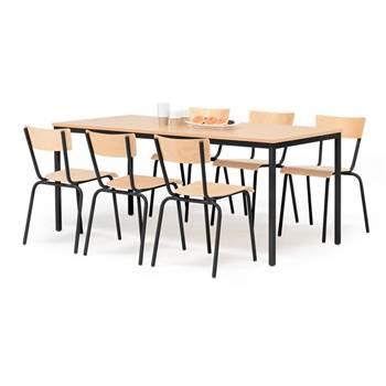 Trpezarijski sto: bukva
