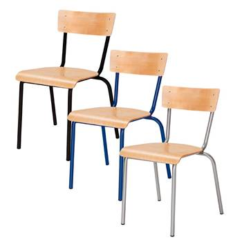 Canteen chair: beech