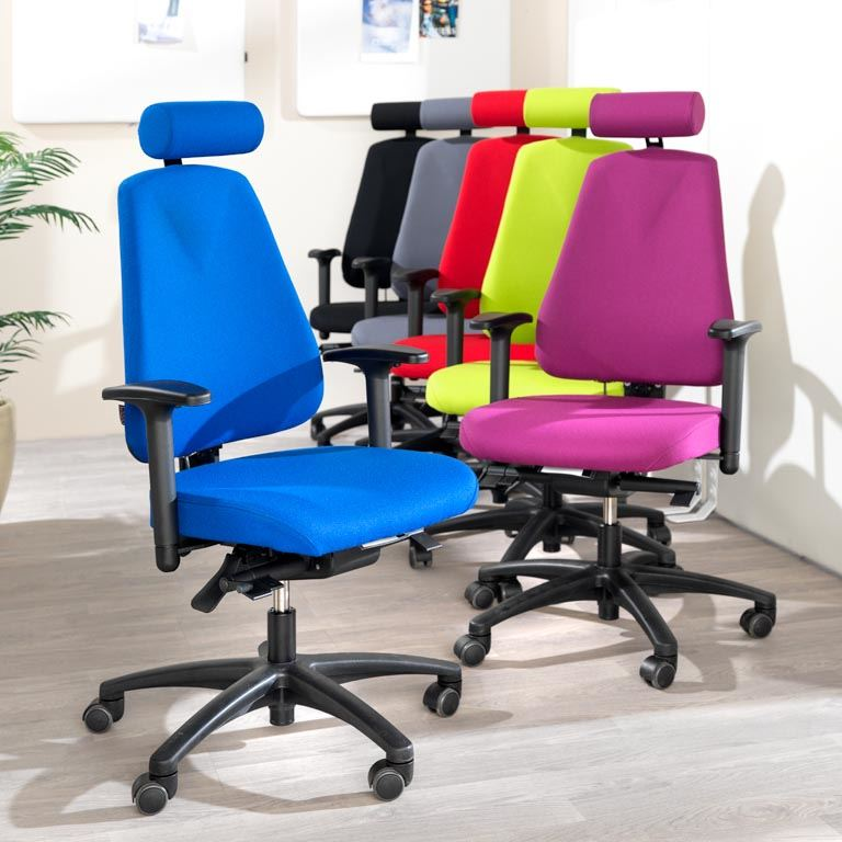 Ergo Office Chair With Free Float Function AJ Products Ireland