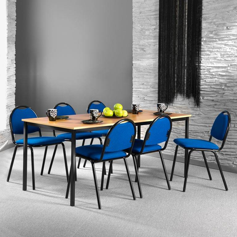 Lunchrumsgrupp bord med 6 stolar
