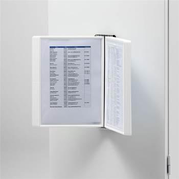 Veggstativ for 10 A4-paneler