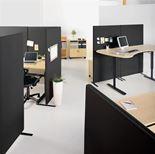 Office floor screens
