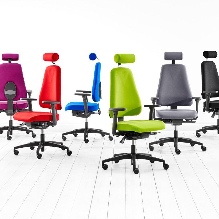 Krzesło biurowe BRIGHTON z mechanizmem multisynchronicznym