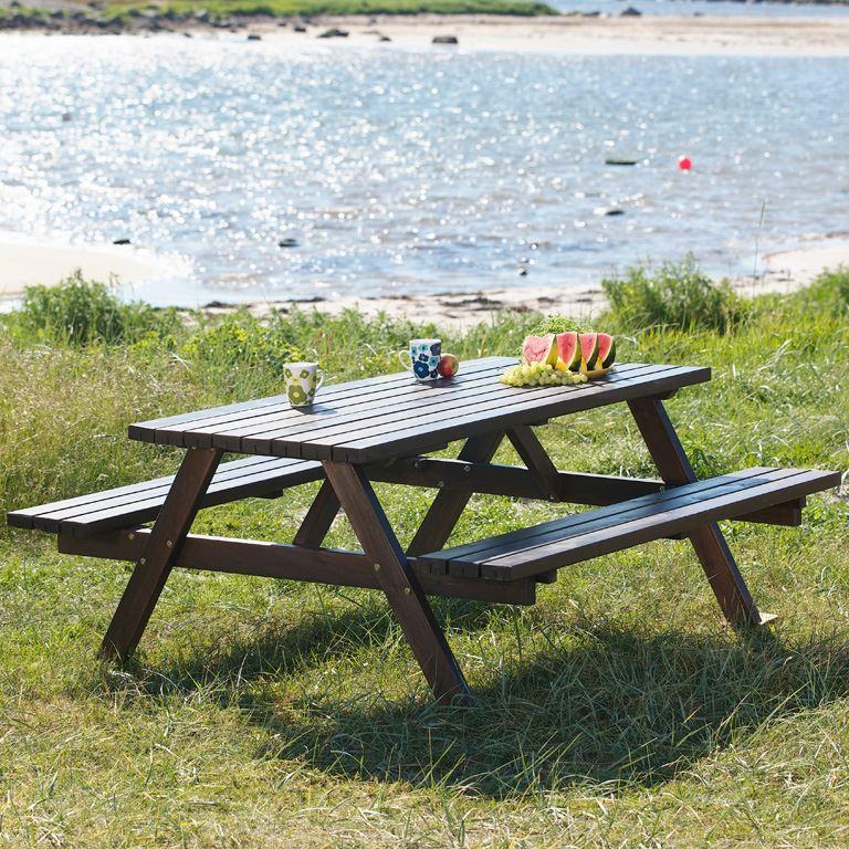 bänk utomhus ~ bord med bänk  aj produkter