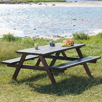 Picnic tables: L1700mm