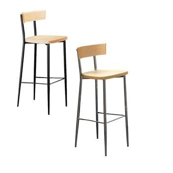 Stylowy stołek barowy.