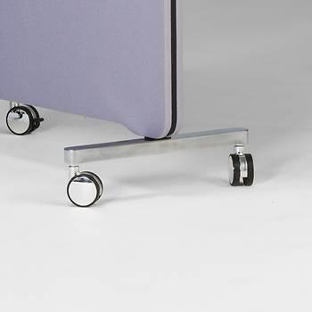 Hjul till golvskärm