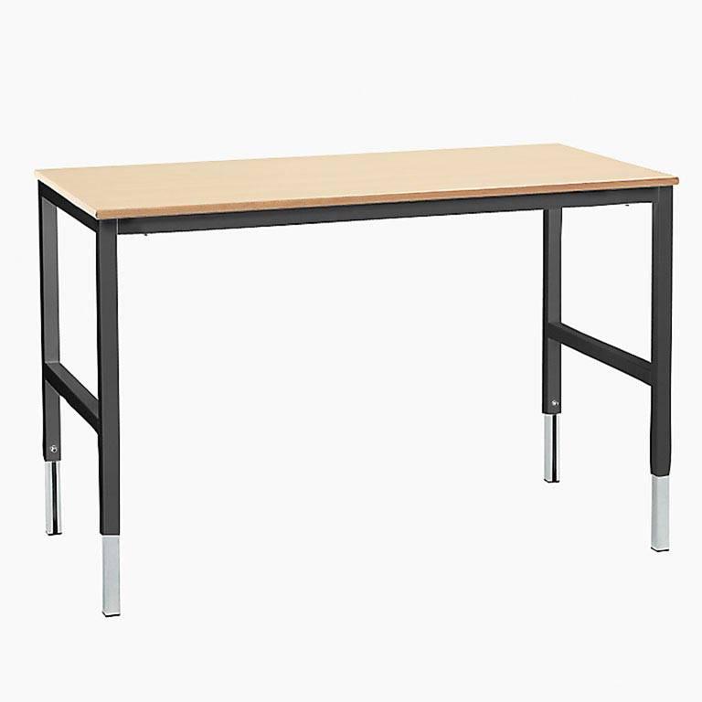 Stół roboczy z blatem z laminatu wysoko ciśnieniowego