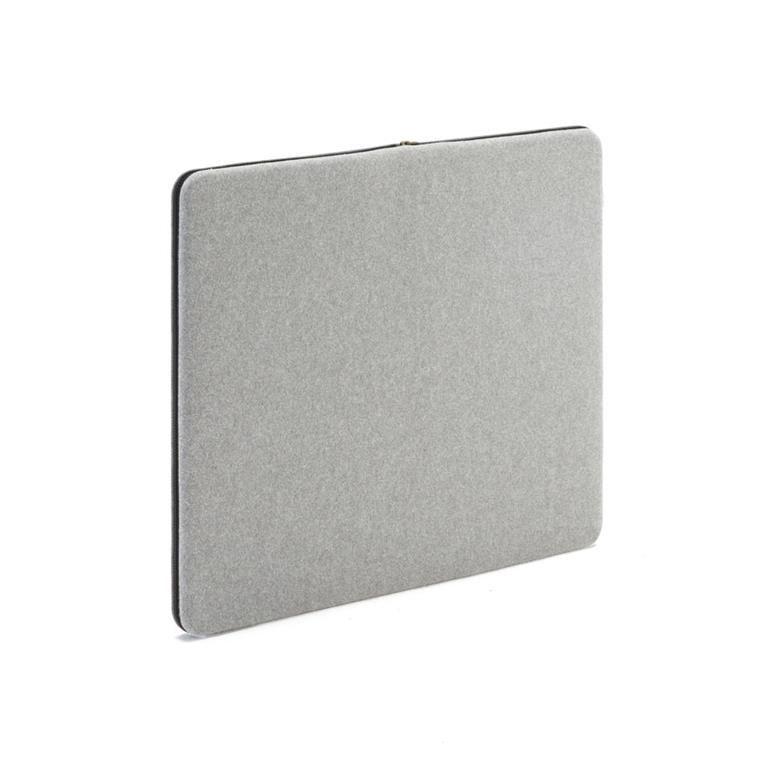Anslagstavla/ljudabsorbent, 800x650 mm