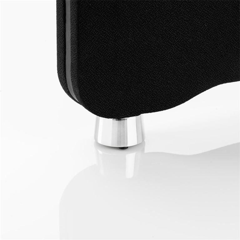 Round foot for floor screens