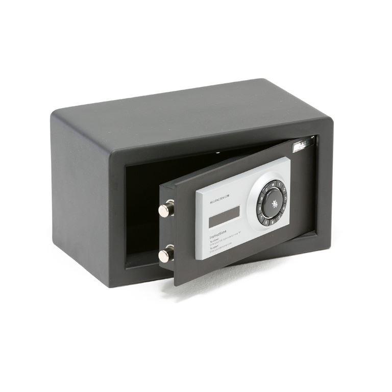Sejf na klucz lub zamek elektroniczny