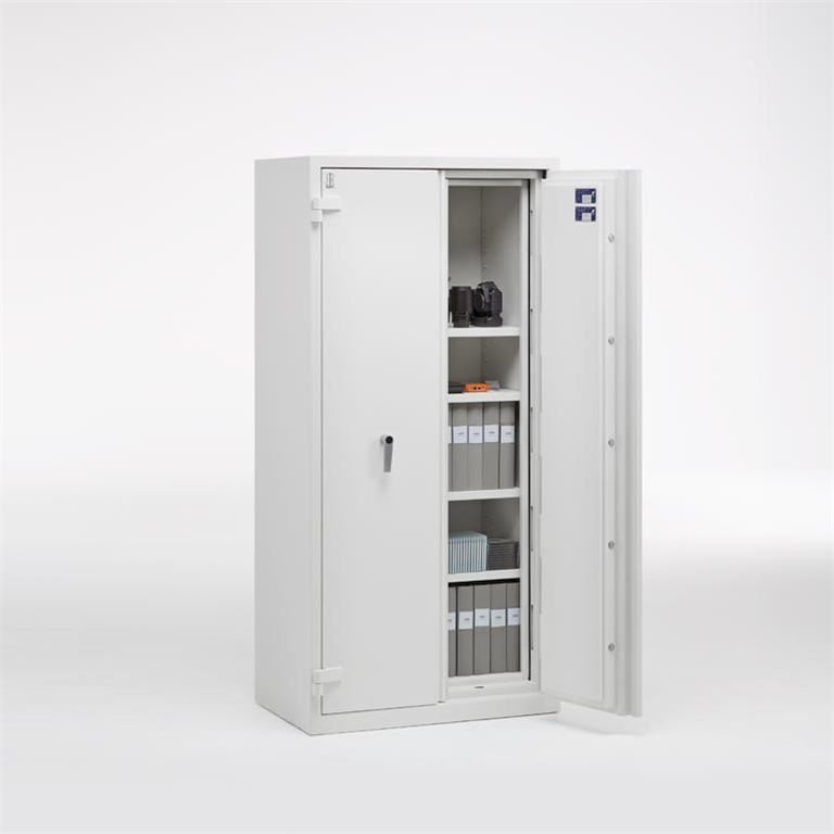 Fire/burglary protection cabinets