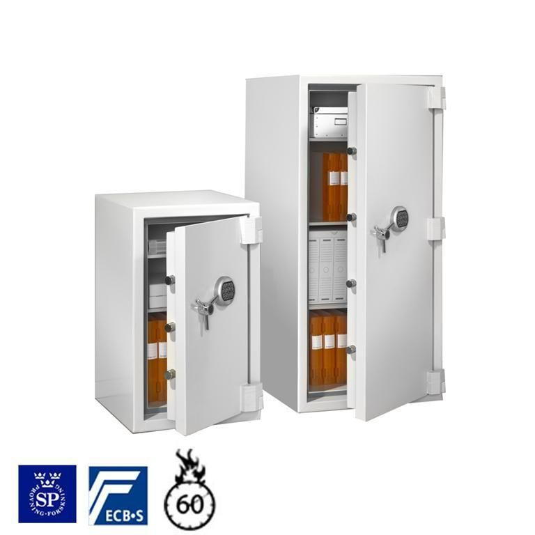 Fire and burglary safe: keypad