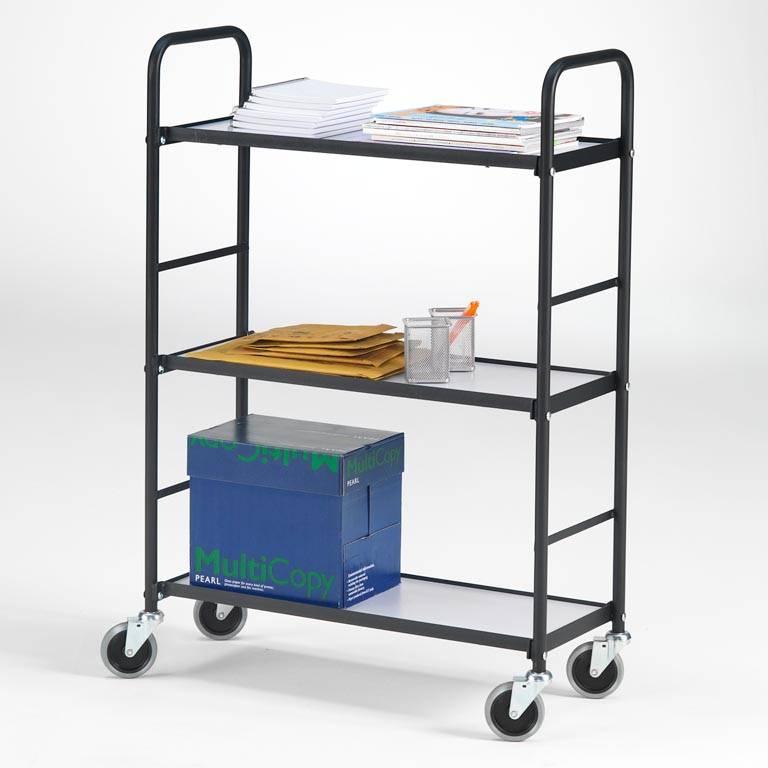 Office trolley: 275x430mm : black