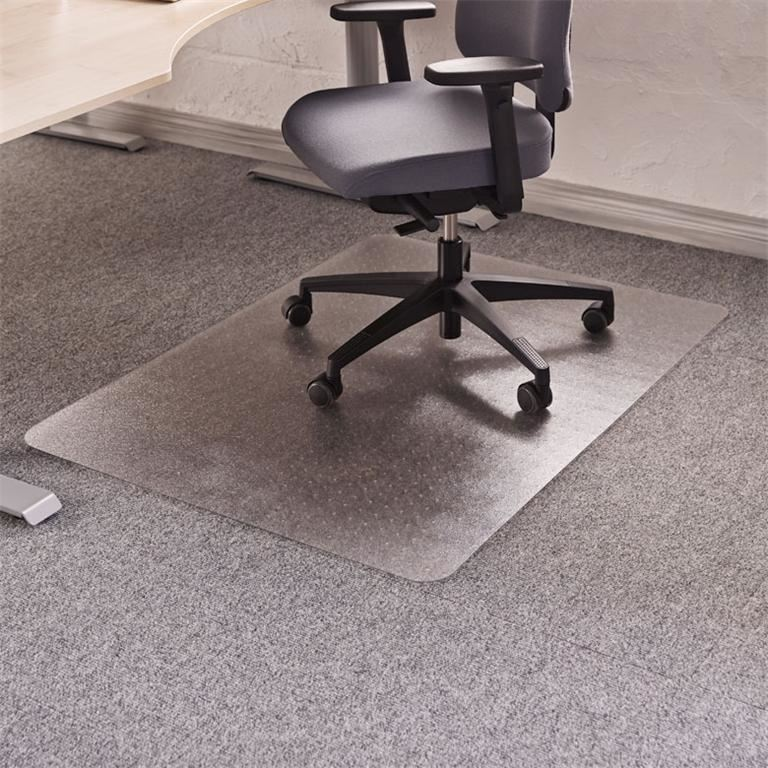 Chair mat for soft floors