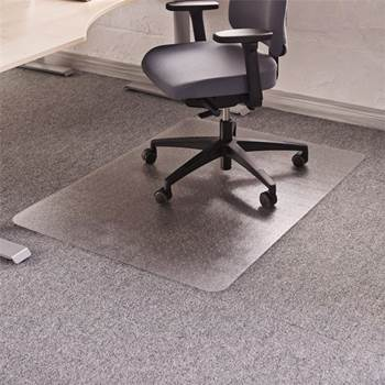 Chair mat for soft floors