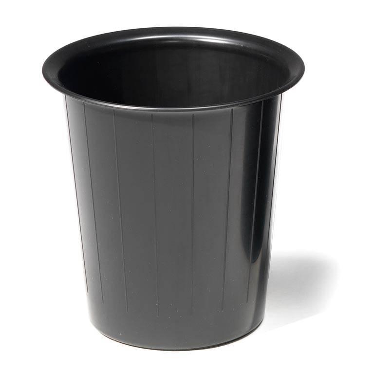 Round waste paper bin