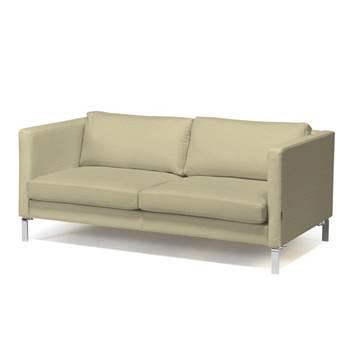 Soffa, 2,5-sits, ljusgrön, tyg, krom