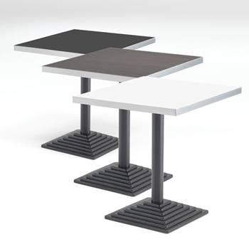 Kafébord med Laminatplate, Kvadratisk