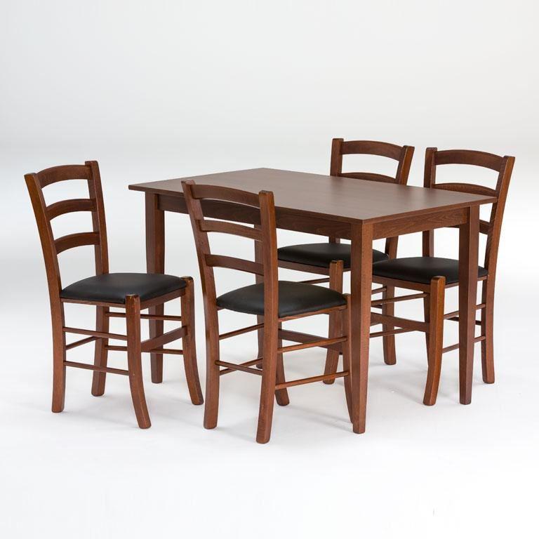 Drewniany zestaw do restauracj