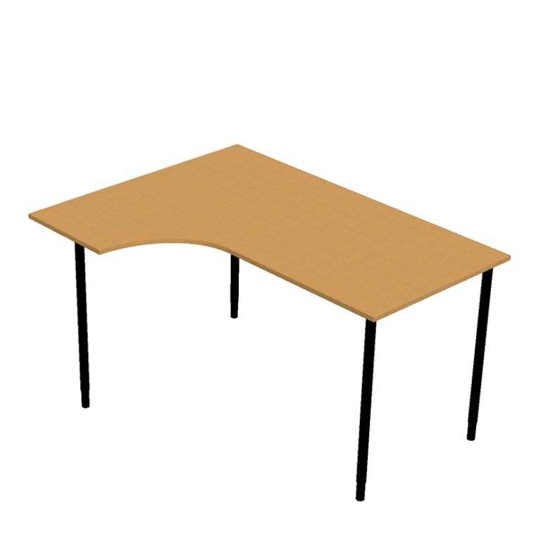 Skrivebord, Hjørne