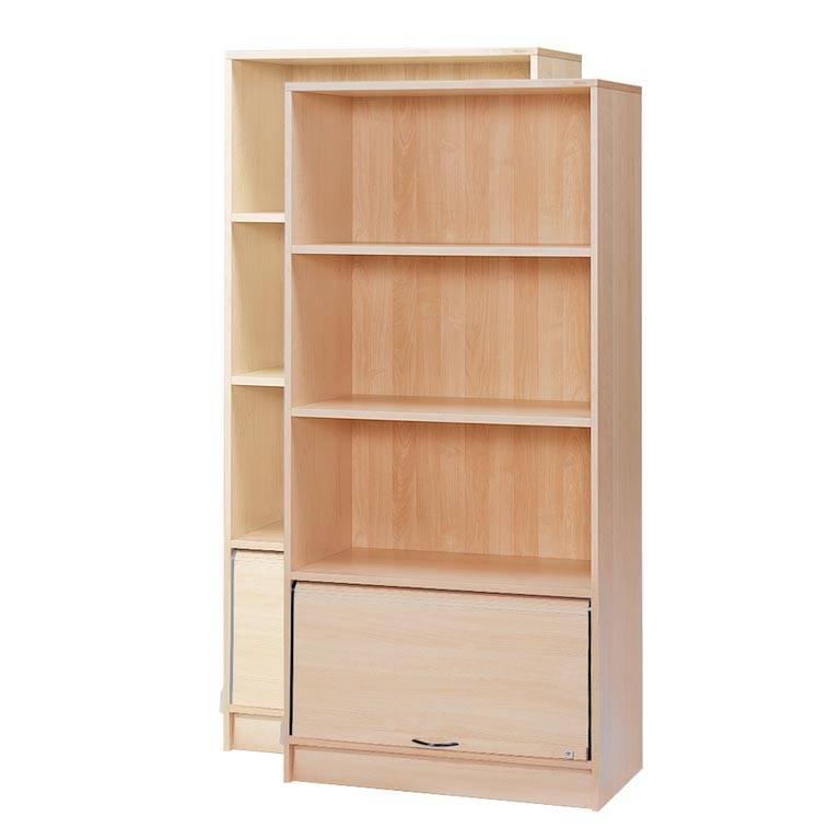 """""""Fixus"""" cabinet: 3 shelves: 1 shutter"""